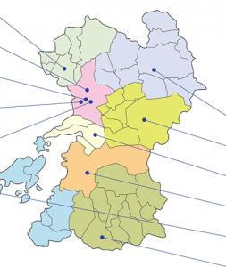 熊本県地図